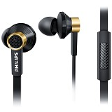 PHILIPS In Ear with microphone [TX2 BK] - Black - Earphone Ear Monitor / Iem
